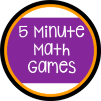 5 Minute Math Games