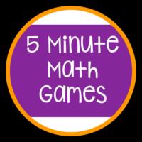 5 Minute Math Games