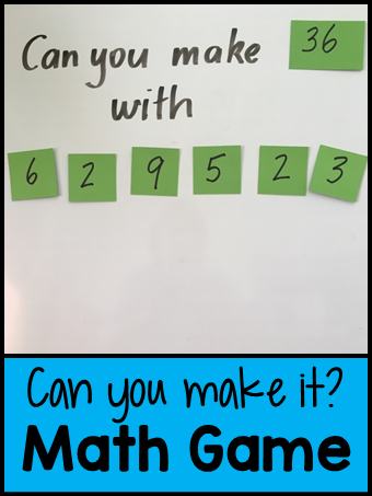 Can you make it math game (2)