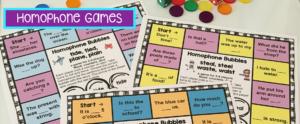 Homophone Games