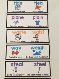 Homophone Games and Cards (1) aa