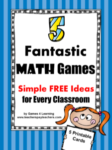 Math Game Ideas FREEBIE (1)