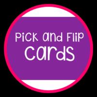 Pick, Flip Check Cards Fun!