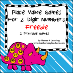 Place Value Freebie 2 Digits