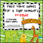 Place Value Freebie 3 Digits