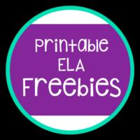 Welcome to My ELA Freebies Page!