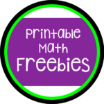 Printable Math Freebies C