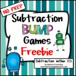 Subtraction Bump Freebies