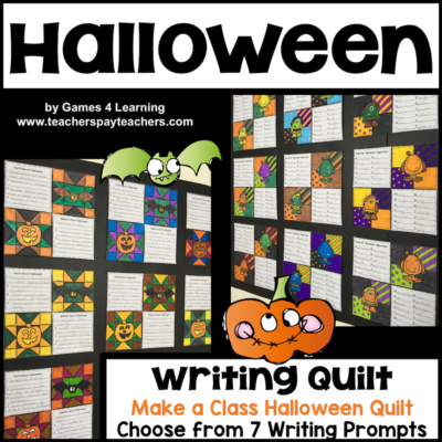 Halloween Writing Quilt