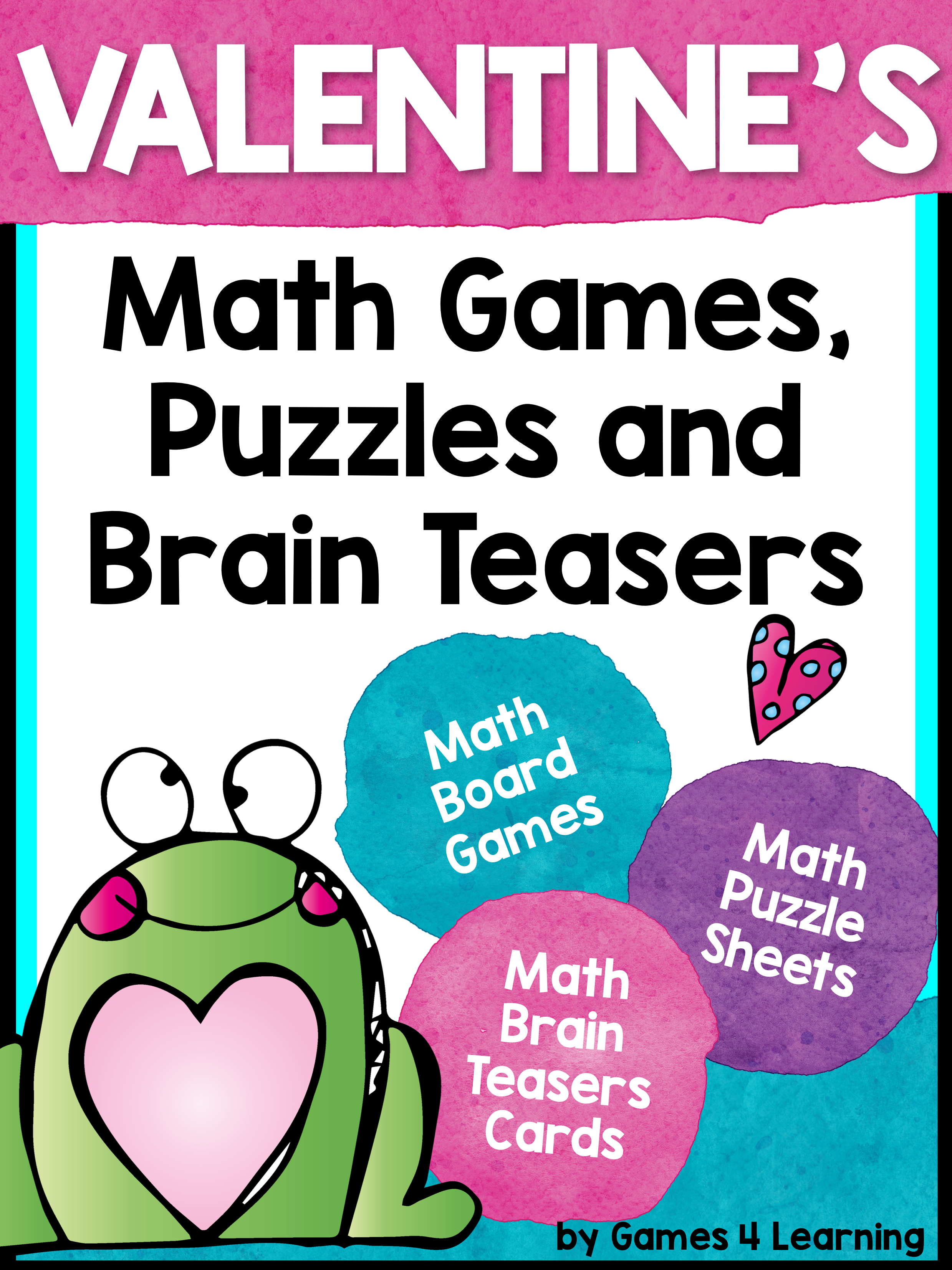 Valentine\'s Day Math Games Freebies